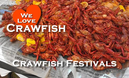 Crawfish Festivals and Events across the United States in 2021