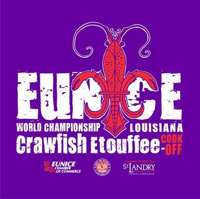click for more information about the Annual World Championship Crawfish Etoufee Cook-off in Eunice Louisiana