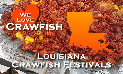Louisiana Crawfish Festivals and Events in 2021
