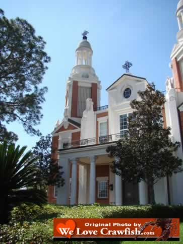 St. Peter's Catholic Cathedral in New Iberia, Louisiana