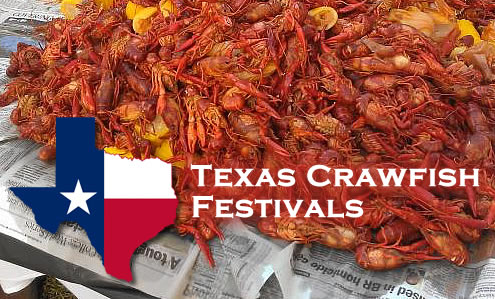 List of crawfish festivals in Texas in 2019, dates, and locations
